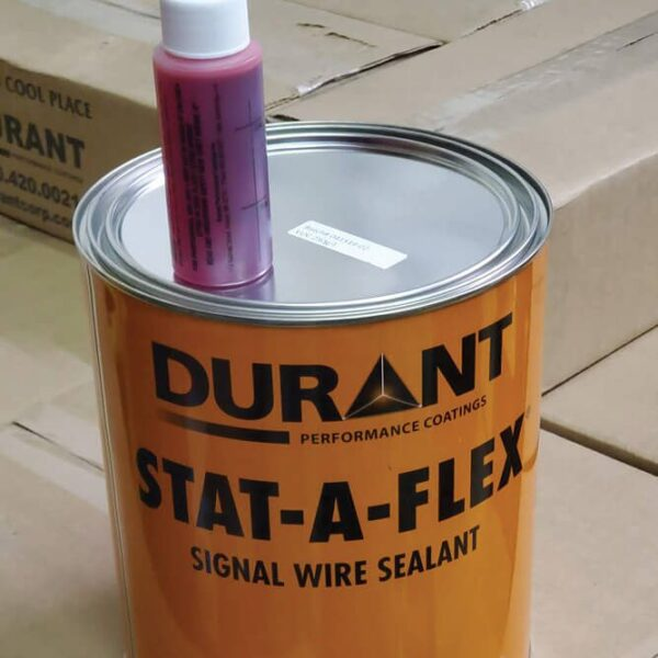 Loop sealant with catalyst